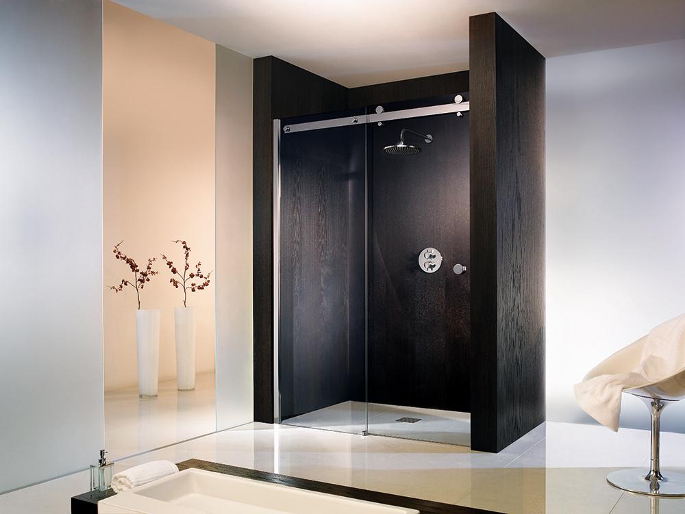 hier finden sie einige beispiele fr modelle und einbausituationen - Dusche Schiebetur Dreiteilig